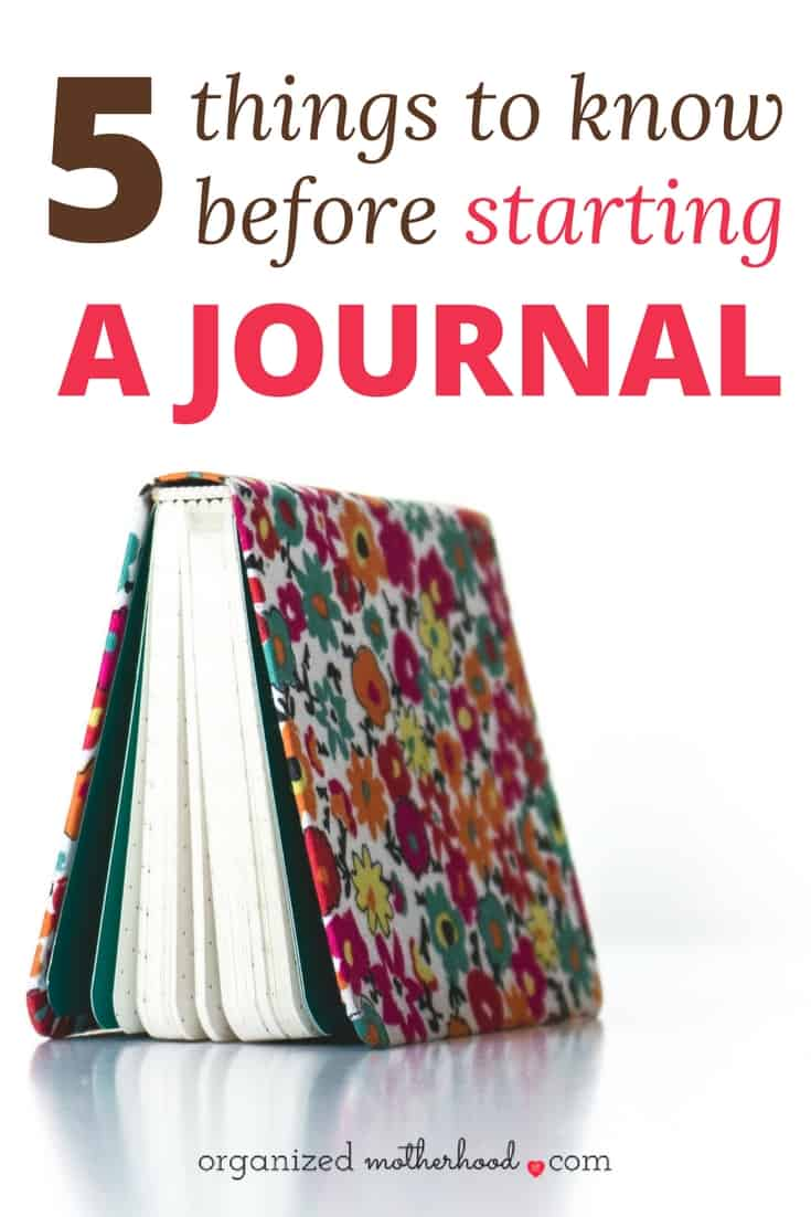 Learn how to start journaling with these tips. Writing in a daily journal will help you relieve stress, be more mindful, and increase your productivity and focus. If you're struggling with time management, focus, or anxiety, read these 5 tips to get started.