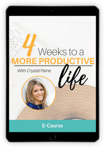 Time management and productivity can seem impossible as a mom, but these strategies can help you find focus and stop the overwhelm.