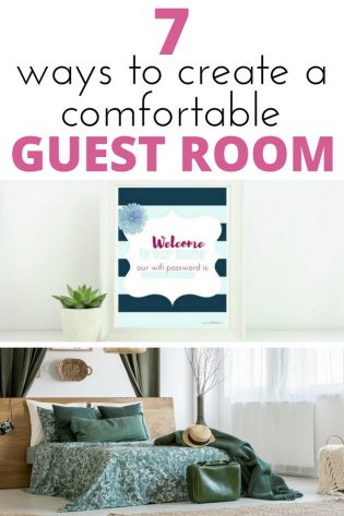 Create a comfortable guest bedroom on a budget with these tips. If you have visitors, make them feel welcome by creating a cozy retreat where they want to stay!