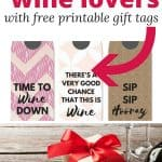 These gift ideas for wine lovers (with free printable gift tags) are perfect for holidays and parties. So many great ideas - more than just a traditional bottle of wine or gift basket. Perfect for any budget.