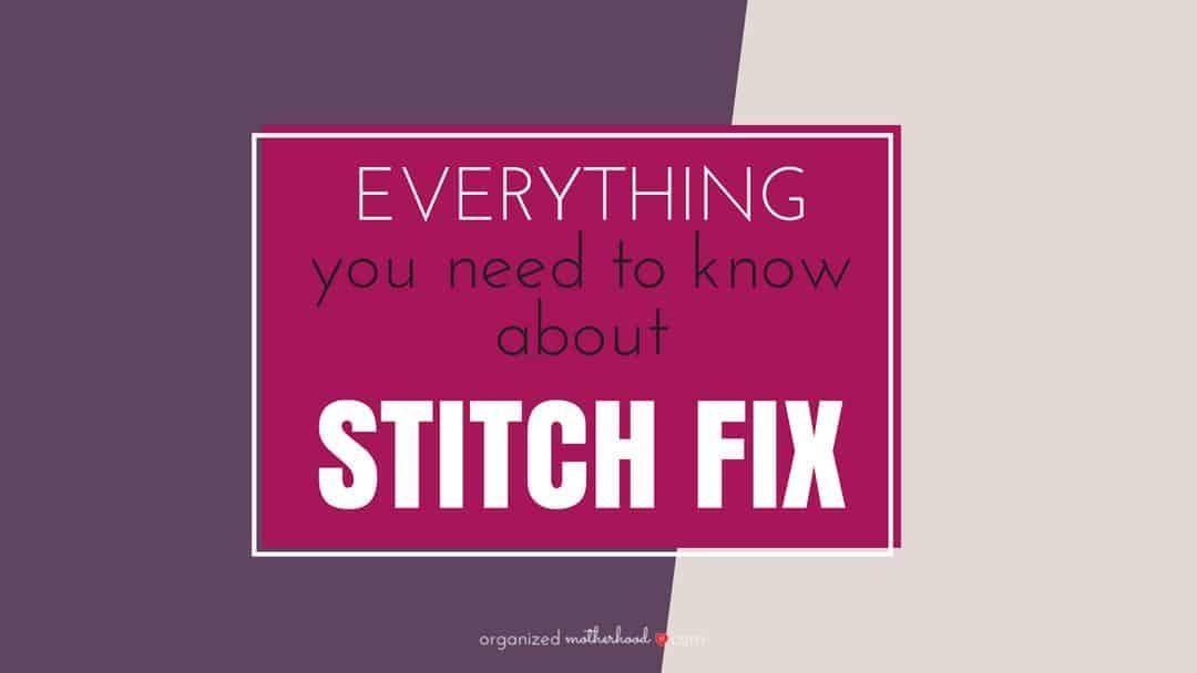 How Does Stitch Fix Work?