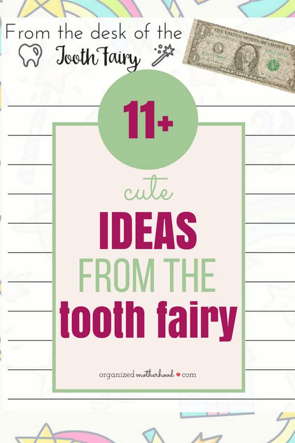 These fun ideas and tooth fairy inspiration are perfect for your child's first lost tooth or creating cute traditions to do each time your child loses a tooth. These are cute for girls and boys. Download a free printable letter from the tooth fairy or learn how to make glitter money with these easy DIY instructions!