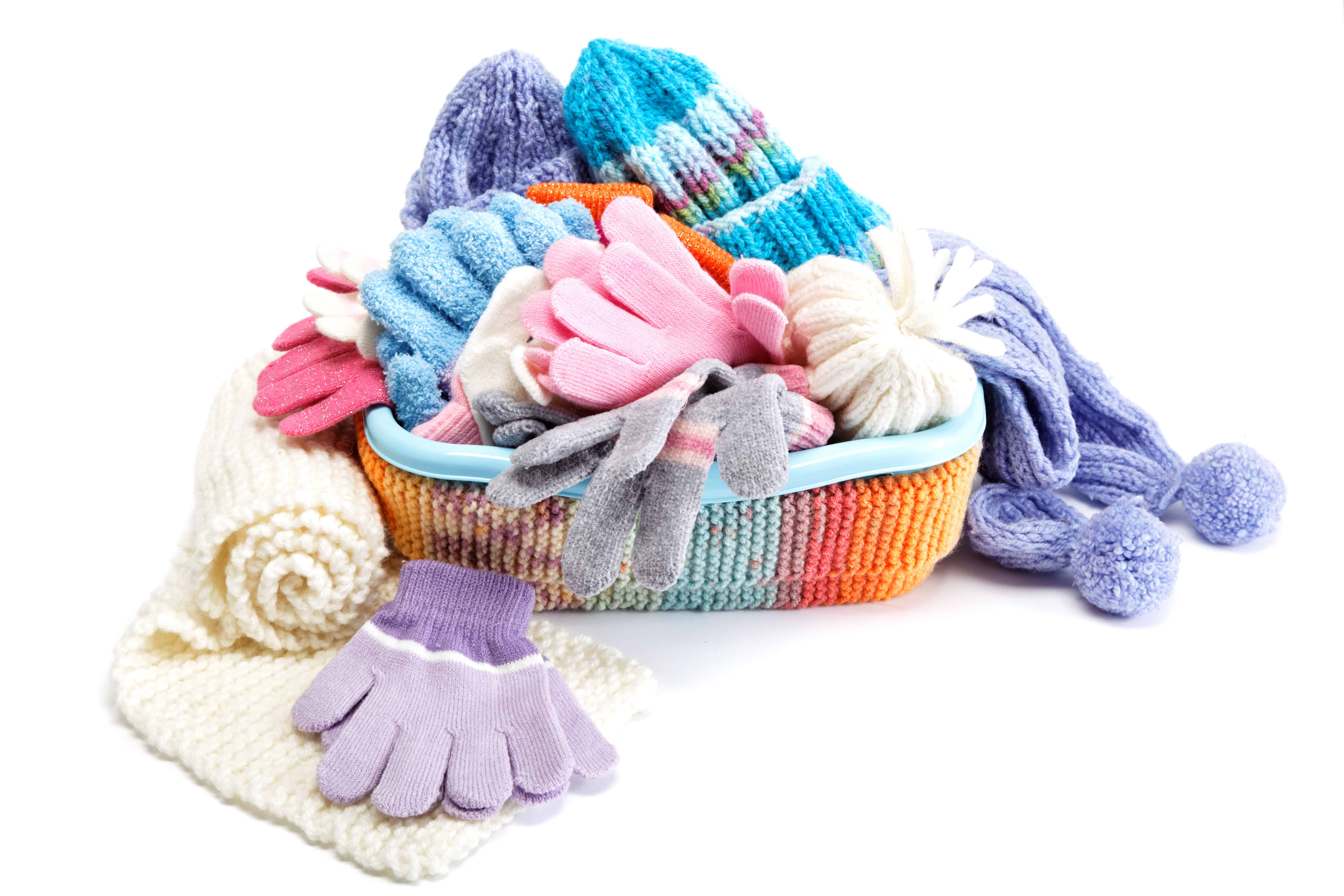 Declutter and organized winter accessories and outerwear with these ideas.