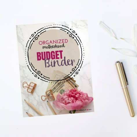 The Organized Motherhood Budget Binder will help you organize your finances, get your spending under control, and finally set up a budget that helps you achieve your financial goals and dreams!