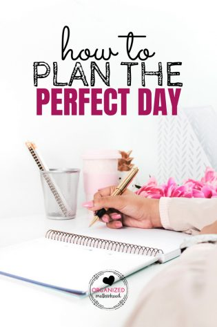 Set up the perfect day with a little planning. These tips will help you create a daily routine, have a better morning, and set up your day so you have a peaceful, productive day.
