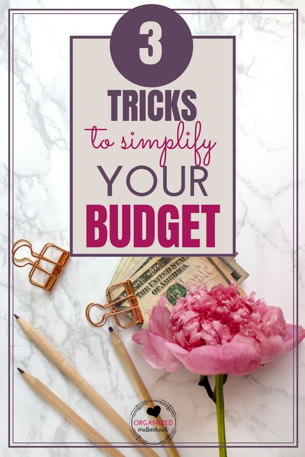 Learn how to organize and simplify your budget with these 3 tips. Even if you're a budgeting beginner, learn how to create a budget that you can stick to, reach your financial goals, and track your expenses the easy way.