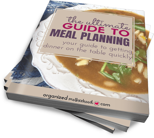 The Ultimate Guide to Meal Planning is your solution for fast, easy dinners. With weekly and monthly planning pages, kitchen inventory templates, and delicious and simple slow cooker and Instant Pot recipes, this printable meal planner binder is your dinnertime solution.