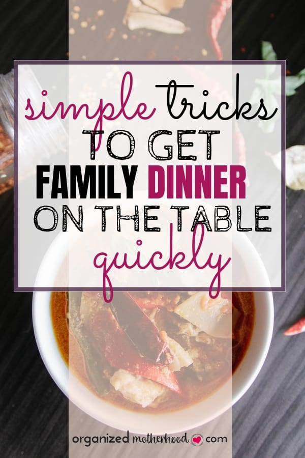Meal planning and prep can be easy with these simple tips! Get delicious dinners on the table and use these tips to save time in the kitchen.