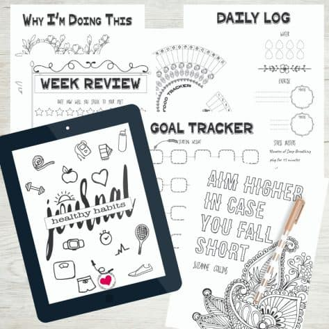 Struggling to track your healthy habits and make progress on your goals? The Organized Healthy Habits Journal will help you keep all your health info in one place and actually make goal setting fun!