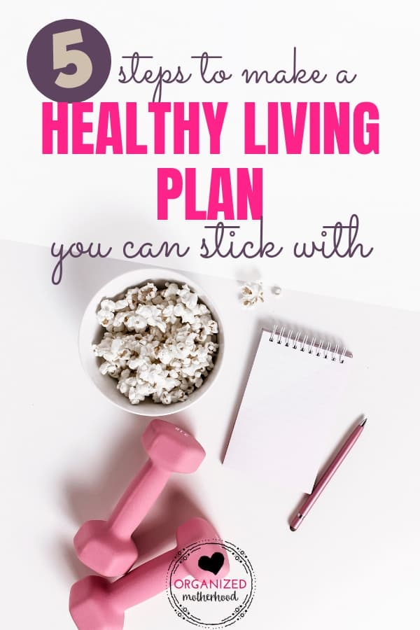 Wouldn't it be nice to finally get healthy? Whether you want to lose weight or eat healthier, these 5 steps will help you create a plan you can stick with.