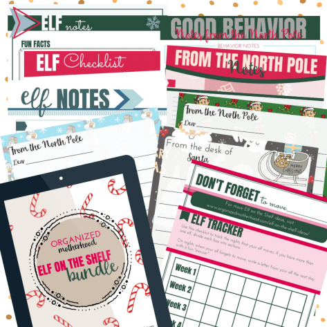 Send your kids Christmas letters, track good behavior, and remember to move your Elf on the Shelf with these free printable elf templates.