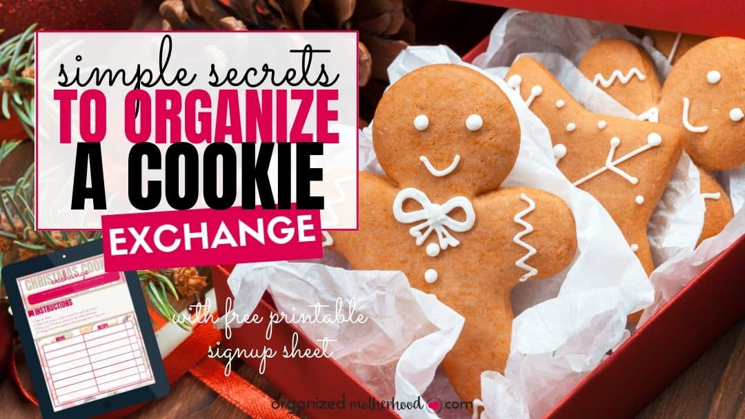 Thinking about organizing a Christmas cookie exchange? Simplify your holiday baking with these tips (and a free printable) to plan a Christmas cookie exchange.