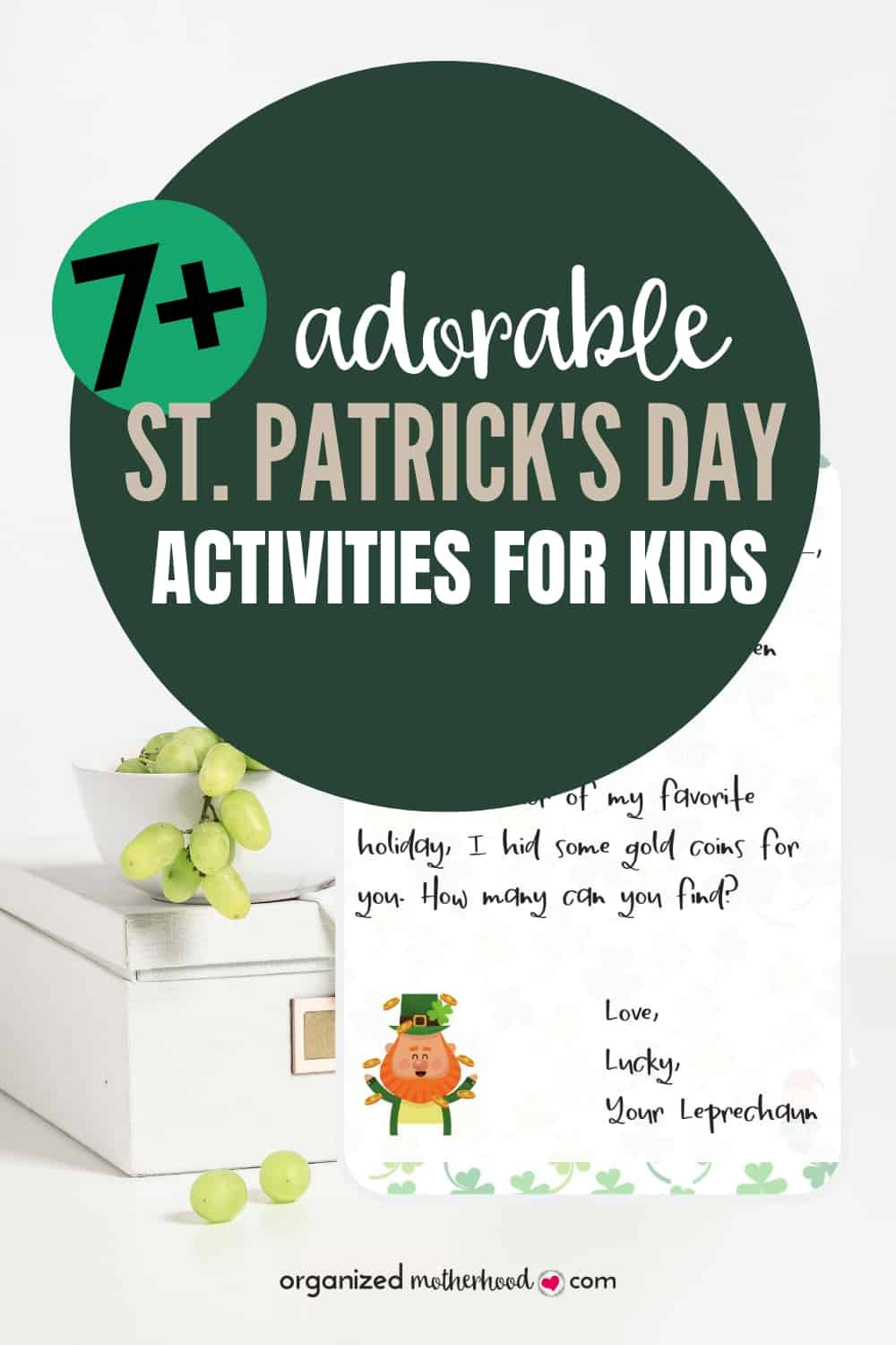 These fun activities for kids are perfect to celebrate the St. Patrick's Day holiday.