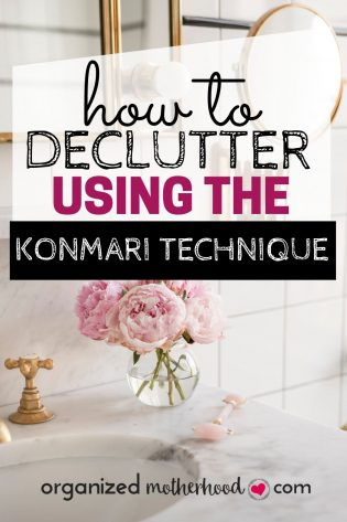 How to declutter with Marie Kondo's method