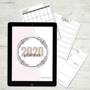 2020 Organized Motherhood Planner