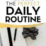 how to create a daily routine