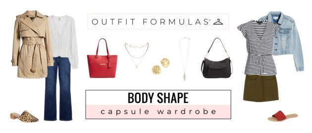 Body Shape Capsule Wardrobe Outfit Formulas
