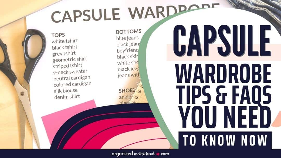Capsule Wardrobe Tips and Questions You need to Know before starting