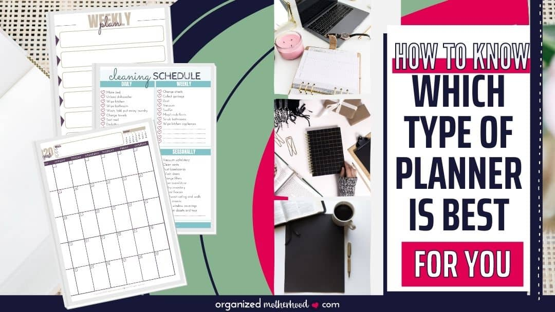 How to Decide Which Type of Planner to Buy