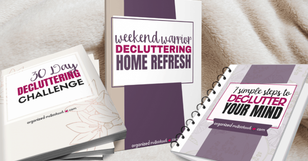 Get the Conquer Your Chaos Decluttering Bundle here