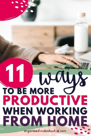 11 ways to be more productive when working at home