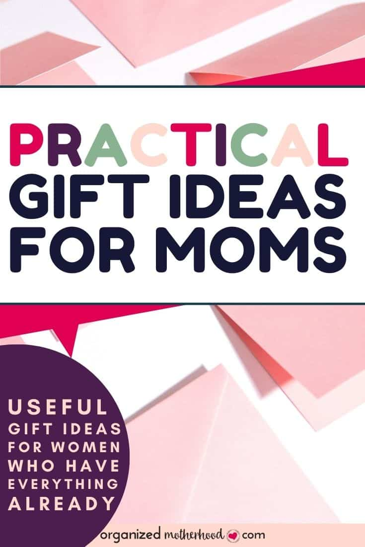 practical gift ideas for your mom