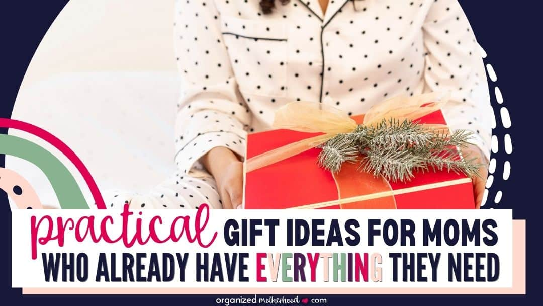 practical gift ideas for moms who love useful presents