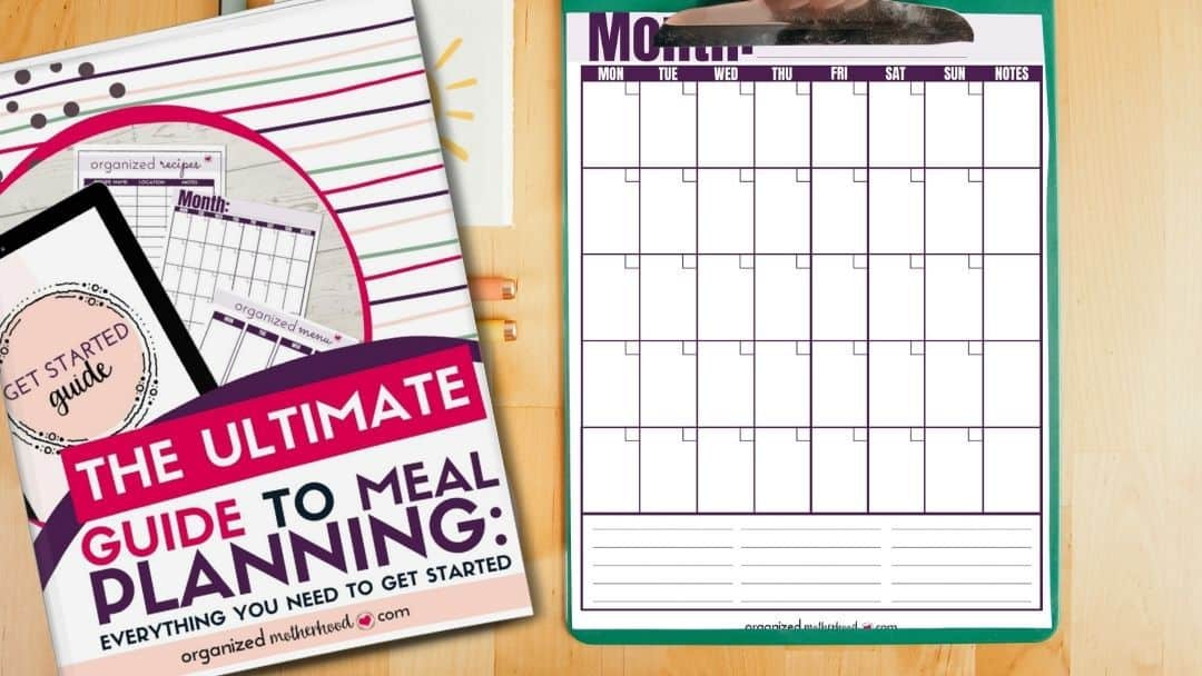 Ultimate Guide to Meal Planning