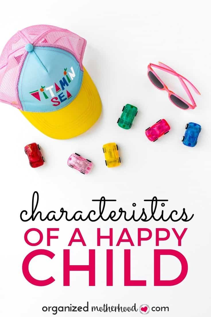 characteristics of a happy child