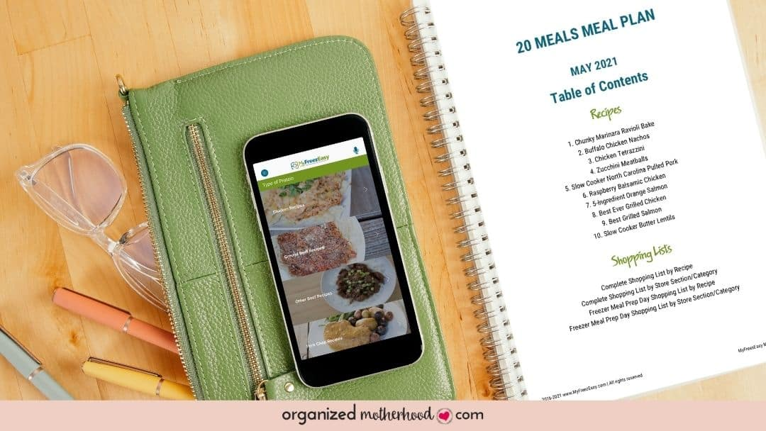 MyFreezEasy makes meal planning and freezer cooking fast and easy.
