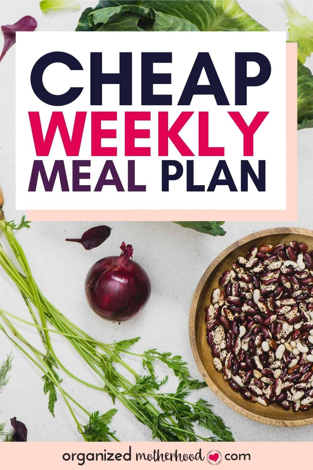 cheap weekly meal plan - how to create a simple menu on a budget