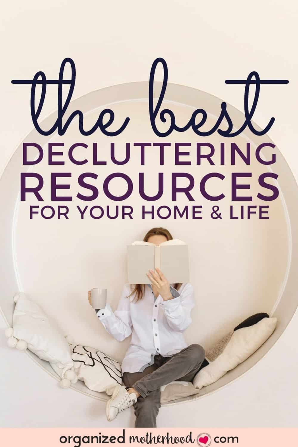 the best decluttering books and resources to declutter your home and life