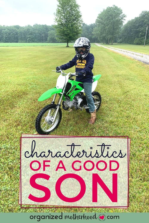 characteristics of a good son
