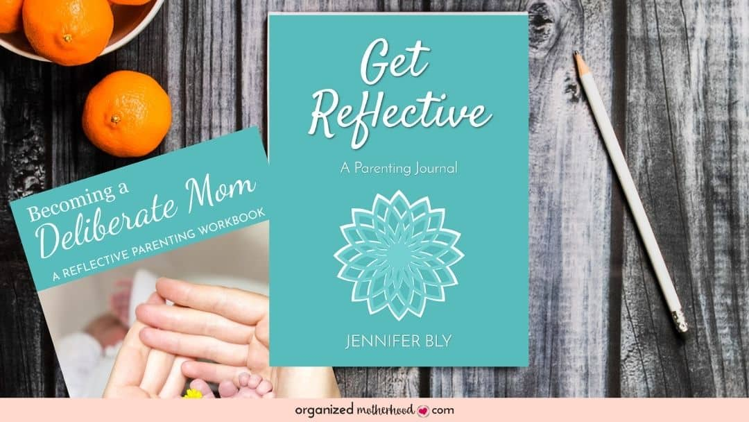Get Reflective and Becoming a Deliberate Mom workbook and journal set
