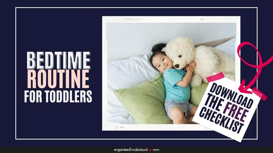 bed routine for toddler